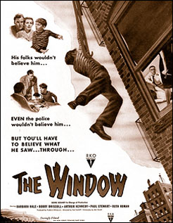 Advertisement for The Window