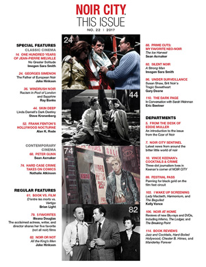 NOIR CITY E-Mag Table of Contents
